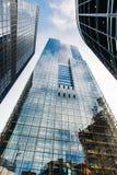 Город офисных зданий Великобритании Лондона стоковое фото rf