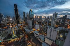 город Панама стоковое фото