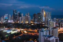 город Панама стоковая фотография rf