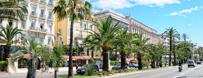 Город панорамного изображения славный, Франция стоковое фото