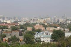 город Пекин Стоковое Изображение RF