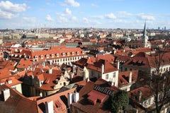 Город Праги, Чешская Республика стоковое изображение rf