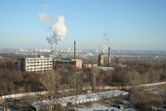 город промышленный Стоковая Фотография