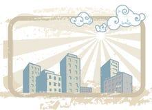 город пылевоздушный Стоковые Фотографии RF