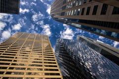 Город района Сан-Франциско финансового стоковая фотография rf
