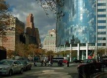 город самомоднейшее New York здания Стоковые Фотографии RF