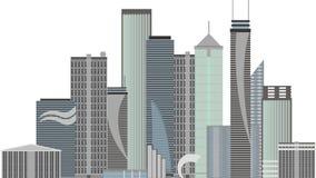 город самомоднейший бесплатная иллюстрация