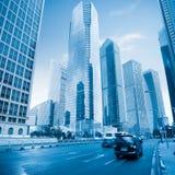 город самомоднейший shanghai Стоковая Фотография RF