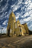 Город Санта Рита собора делает Passa Quatro, São Paulo, Бразилию - город Санта Рита церков делает Passa Quatro, São Paulo, Браз стоковая фотография rf