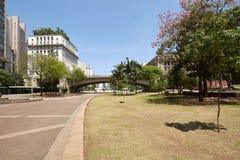 Город Сан-Паулу в Бразилии Стоковые Фотографии RF