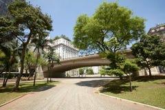 Город Сан-Паулу в Бразилии Стоковое фото RF