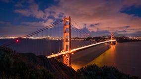 Город Сан-Франциско - горизонт города Сан-Франциско стоковое изображение