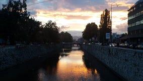 Город Сараева стоковая фотография rf