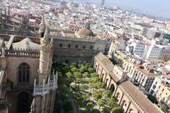 Город Севильи, Андалусии, Испании Стоковое Изображение RF