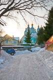 Город Смоленска Собор предположения благословленное Стоковая Фотография
