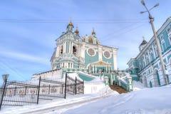 Город Смоленска Собор предположения благословленное Стоковые Фото