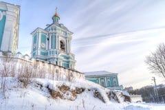 Город Смоленска Собор предположения благословленное Стоковое Изображение RF