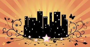 город солнечный бесплатная иллюстрация