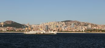 Город Стамбула в Турции Стоковое фото RF
