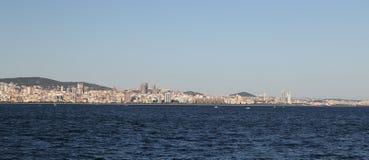 Город Стамбула в Турции Стоковое Изображение RF