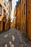 город старый stockholm Стоковые Изображения RF