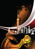 город урбанский Стоковая Фотография RF