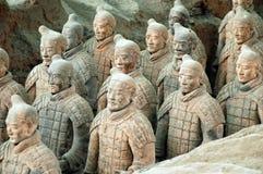 город фарфора армии около terracotta xian Стоковые Фотографии RF