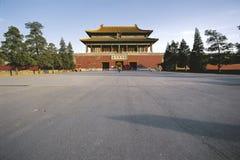 город фарфора Пекин forbiden Стоковые Изображения RF
