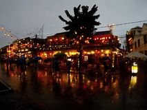 Город фонариков стоковые фото