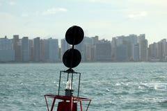 Город Форталезы - CE Бразилии стоковое изображение rf