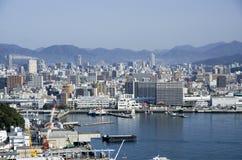 Город Хиросимы, Япония Стоковая Фотография RF