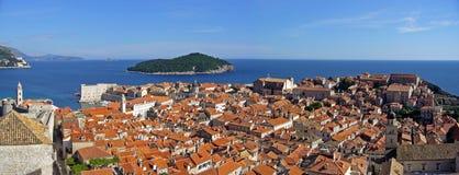 город Хорватия dubrovnik старый Стоковое Изображение RF