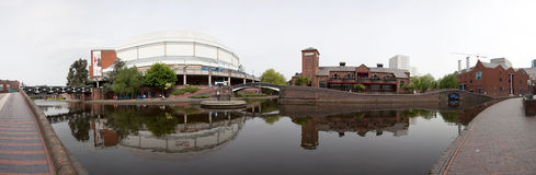 город центра birmingham стоковое изображение rf
