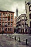 город церков старый стоковое фото rf