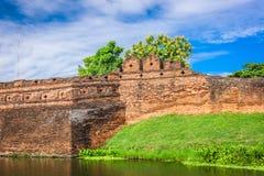 Город Чиангмая, Таиланда старый стоковые изображения rf