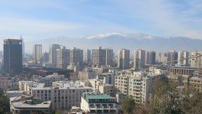 Город Чили Сантьяго стоковое фото rf