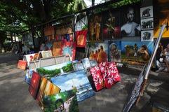 Город Шри-Ланка Коломбо продавца картины улицы стоковая фотография rf
