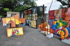 Город Шри-Ланка Коломбо продавца картины улицы стоковое фото