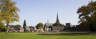 Город Энсхедя в Нидерланд Стоковое фото RF