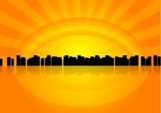 город Стоковое фото RF