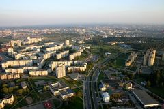 город Стоковые Фотографии RF