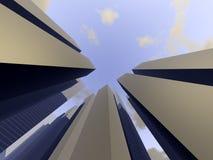 Город 3 Стоковые Изображения