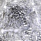 город 3d Стоковые Изображения
