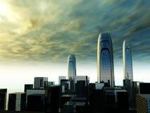 Город 40 иллюстрация штока