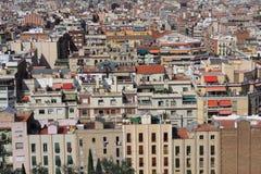 город barcelona Стоковые Фотографии RF