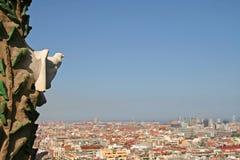 город barcelona стоковая фотография rf