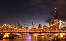 Город Brisbane Стоковая Фотография RF