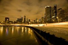 город chicago городской Стоковое фото RF