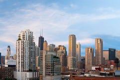 город chicago Стоковое Изображение