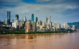 Город Chongqing стоковое изображение rf